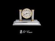 El Casco asztali óra, króm