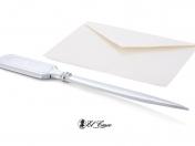 El Casco borítékvágó, levélnyitó kés, króm