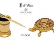 El Casco SWAROVSKI teknőc, csengő, levélnehezék