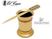El Casco SWAROVSKI tolltartó és borítékvágó kés