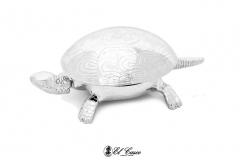 El Casco teknőc, csengő, levélnehezék, króm