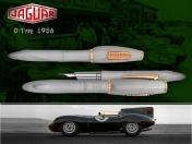 Jaguar, D-Type 1956 fountain pen