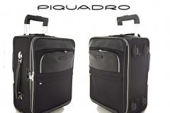 Piquadro, bőr gurulós bőrönd