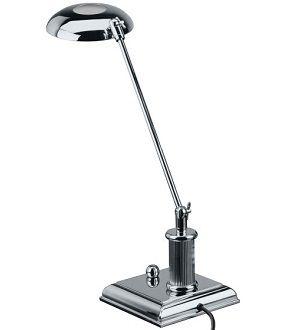 El Casco halogén asztali lámpa, króm
