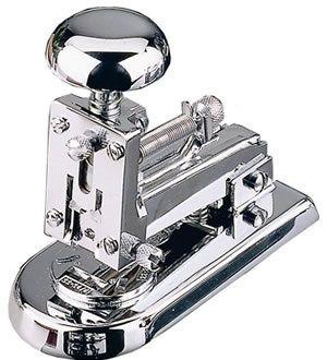 El Casco asztali tűzőgép, kicsi, króm